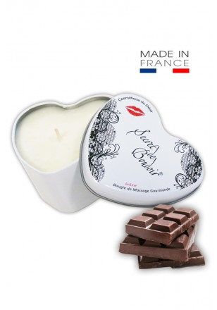 "Bougie de Massage Gourmande ""Chocolat"""