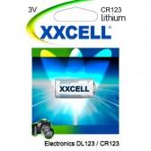 Batterie X 1 pile  CR123 / DL123