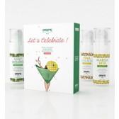Coffret de 3 huiles de massage gourmandes