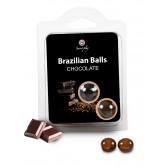 Boules Brésiliennes aromatisées Chocolat X2