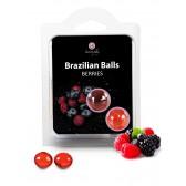 Boules Bresiliennes aromatisées Fruits des bois X2