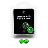 Boules Bresiliennes VIBRATOR x2
