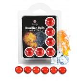 Boules Bresiliennes Effet CHAUD et FROID X6