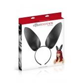 Bunny oreilles simili cuir sur serre tête