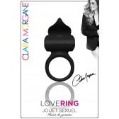 Love Ring - Anneau Vibrant noir