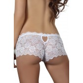 Asta Shorty blanc dentelle