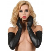 Gants longs en wetlook
