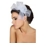 Peigne Fleur blanche Hat32