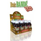 BOIS BANDE  Display 3xFraise, 3x Ananas, 3x Caramel, 3x Menthe 200 ML