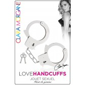 Menotte Love Handcuffs métal argenté