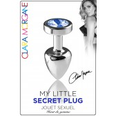My Little Secret Plug type Rosebud Medium Bijou Bleu
