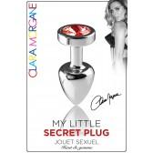 My Little Secret Plug type Rosebud Medium Bijou Rouge