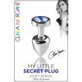 My Little Secret Plug type Rosebud Small Bijou Bleu