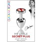 My Little Secret Plug type Rosebud Small Bijou Rouge