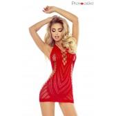 Sexy Dress rouge dos nu PR1658 S/M/L