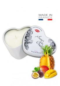"""Bougie de Massage Gourmande """"Fruits Exotiques"""""""