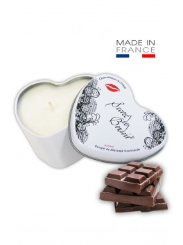 "Bougie de Massage Gourmande ""Chocolat"""