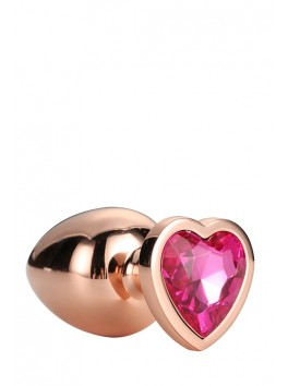 Gleaming Love Coeur Bijou Plug gold 21791 Taille L
