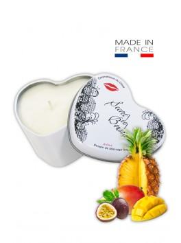"""Bougie de Massage Goumande """"Fruits Exotiques"""""""