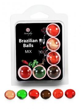 Boules Bresiliennes aromatisées mélangé X6