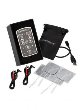 Boitier Electro stimulation et 4 électrodes 2 canaux indépendants