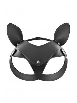 Masque noir Catwoman simili cuir