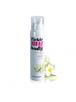 "Mousse crépitante massage ""Tickle My Body"" Monoi"