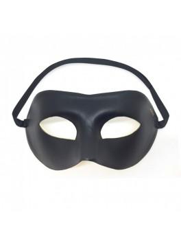 Mask effet cuir noir