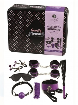 Secret Bondage violet Coffret couple