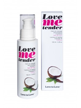 Huiles de massage Love Me Tender Noix de Coco