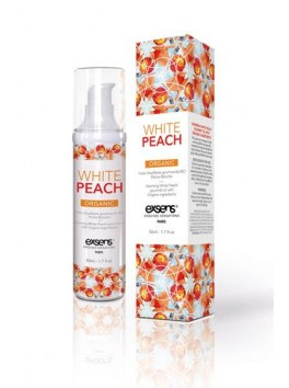 MASSAGE HOT GOURMAND Peche blanche.50ML