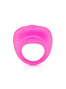 VIBRATING COCKRING PINK GLAMY