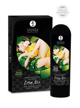 Lotus Noir, Gel Sensibilisant BIO pour le Couple - SHUNGA