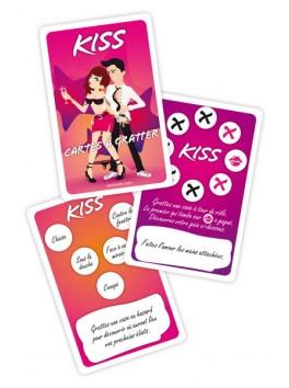 JEU KISS - CARTES A GRATTER