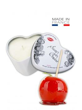 """Bougie de Massage Gourmande """"Pomme D'amour"""""""