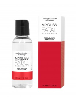 Lubrifiant silicone FATAL - ROSE VELOURS 50 ML