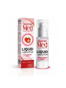 Liquid Vibrator Lubrifiant gourmand Fraise