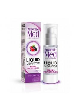 Liquid Vibrator Lubrifiant gourmand Fruits rouges