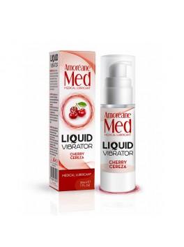 Liquid Vibrator Lubrifiant gourmand Cerise