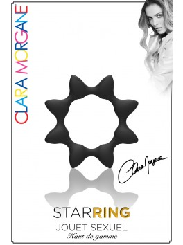 Star Ring - Anneau noir étoile