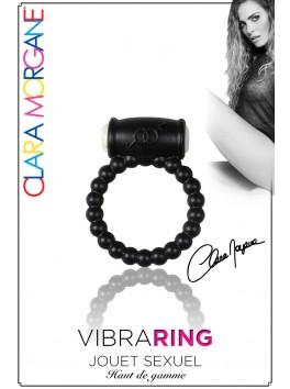 Vibra Ring - Anneau Vibrant noir perle