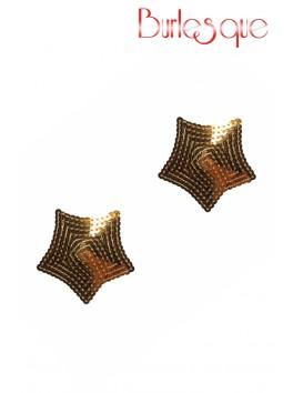 Nipple Tempest étoile sequin Or Réutilisable