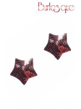 Nipple Tempest étoile sequin Rose Réutilisable