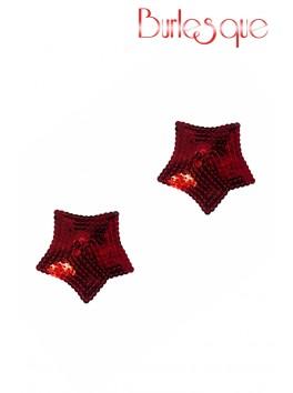 Nipple Tempest étoile sequin Rouge Réutilisable