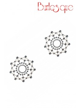 Nipple Bijou Rowland Diamant Transparent Réutilisable