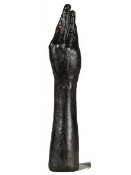 Gode MAIN - 40cm x 75 Noir - ALL BLACK