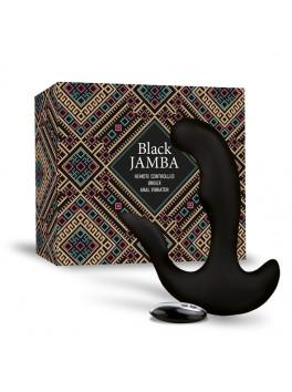 Black Jamba à télécommande Point G-Stimulateur clitoris-plug USB Noir