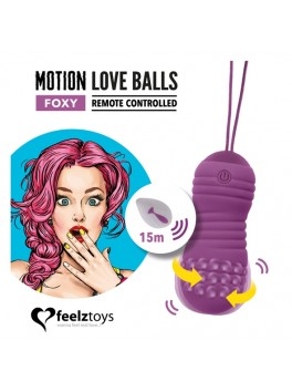REMOTE CONTROLLED MOTION LOVE BALLS FOXY