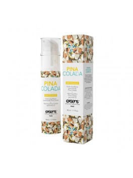 Massage HOT Gourmand PINA COLADA.50ML