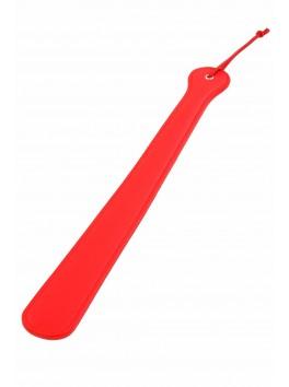 Grande tapette simili cuir rouge